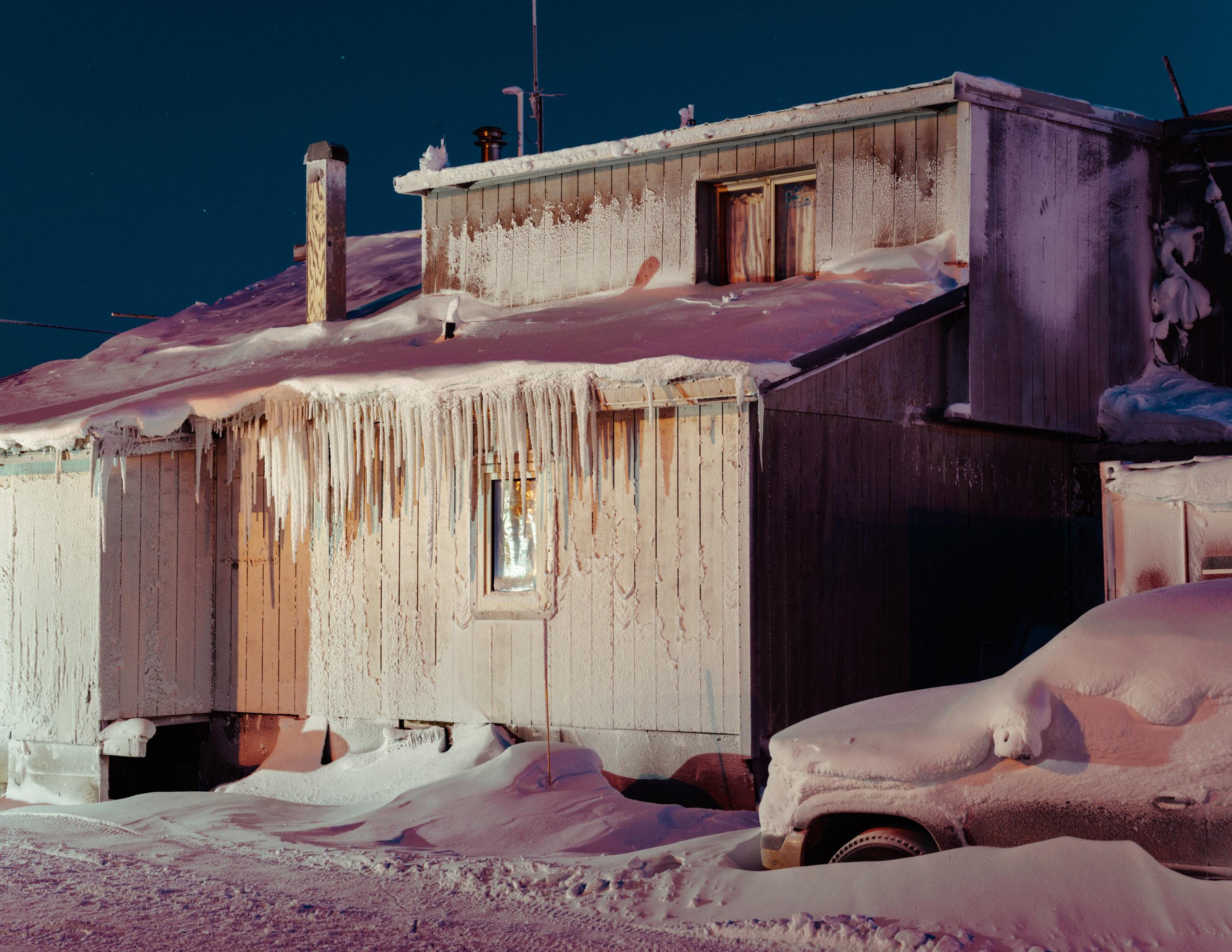 Polar Night: A Visual Poem on an Arctic Town
